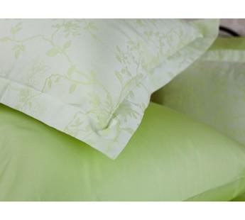 Комплект постельного белья Lime Palette Grass Евро