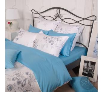 Комплект постельного белья Евро TENSEL PREMIUM L-13