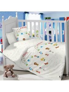 CДA-10-006/KT-61 Цирк КПБ Детский в кроватку Сатин АльВиТек
