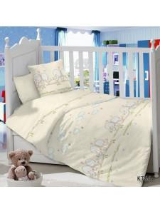 CДA-10-009/KT-66 Птенцы КПБ Детский в кроватку Сатин АльВиТек