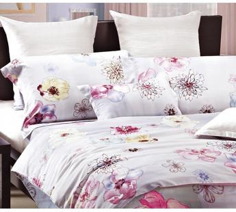 Комплект постельного белья Евро TENSEL PREMIUM L-5
