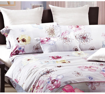 Комплект постельного белья Дуэт TENSEL PREMIUM L-6