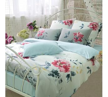 Комплект постельного белья Евро TENSEL PREMIUM L-10