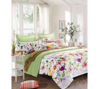 Комплект постельного белья Дуэт SATIN PREMIUM V18