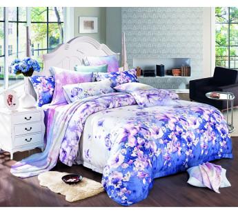Комплект постельного белья Евро TENSEL PREMIUM L-2