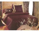 Постельное белье сатин с вышивкой D- 32 КПБ евро Сайлид