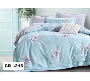 NAYLY Комплект постельного белья евро сатин люкс Retrouyt
