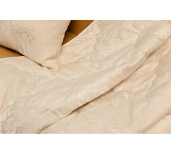 """Одеяло стеганое из шерсти меринос""""Золотой меринос"""" 200х220 Natures (Натурес)"""