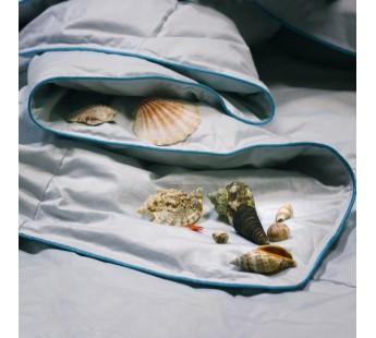 """Одеяло пуховое кассетное """"Морская свежесть"""" 172х205 Natures (Натурес)"""
