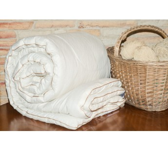 "Одеяло из овечьей шерсти ""Шерстяной завиток"" 140х205 Natures (Натурес)"