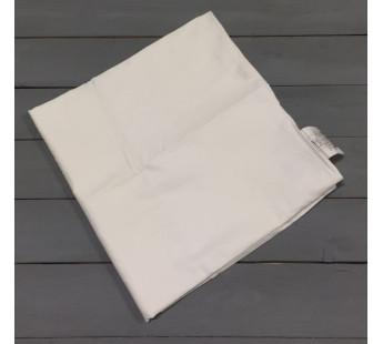 Н-С-50-БЕЛ белая наволочка ткань сатин 2шт.-50х70