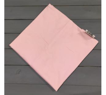 Н-С-50-РОЗ розовая наволочка ткань сатин 2шт.-50х70