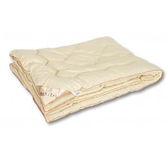 """ОМШ-20 Одеяло  из овечьей шерсти меринос """"Модерато-Эко"""" 172х205 классическое-всесезонное"""