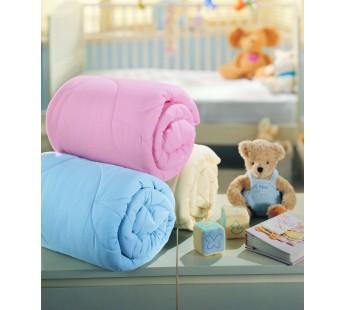 Одеяло для новорожденных ТАС/силиконизированное волокно/LIGHT розовый