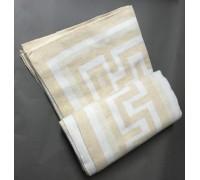 "Одеяло ""Греция"" 100% х/б 140х205 бел-беж"