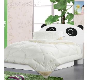Одеяло с наполнителем бамбуковое волокно Бамбук Люкс детское 110х140