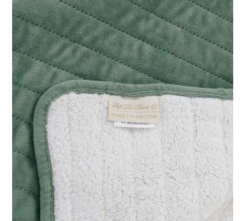 Либерти (зеленый) Плед 220х240