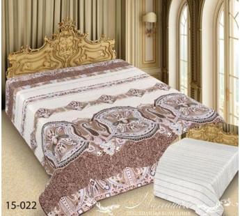 15-022 150х220 Barokko Покрывало ультрастеп Марианна