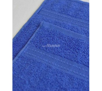 Синяя 180х210 Простыня Махровая ITUMA