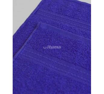Темно-синяя 180х210 Простыня Махровая ITUMA