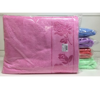 Розовый Простыня Розочка 88-25-М 190х230 Winnipool