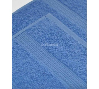 Голубая 180х210 Простыня Махровая ITUMA