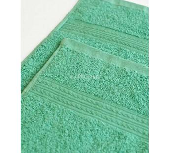 Светло-зеленая 150х210 Простыня Махровая ITUMA