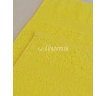 Лимонная 180х210 Простыня Махровая ITUMA