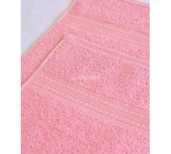 Светло-розовая 150х210 Простыня Махровая ITUMA