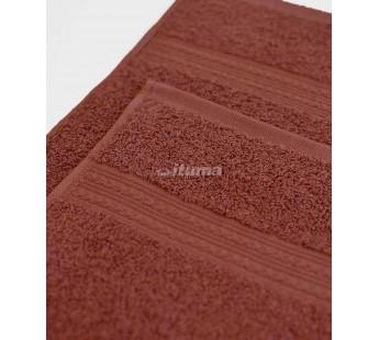 Шоколад 150х210 Простыня Махровая ITUMA