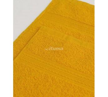 Желтая 180х210 Простыня Махровая ITUMA