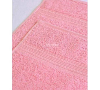 Светло-розовая 180х210 Простыня Махровая ITUMA