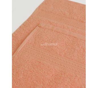 Персиковая 150х210 Простыня Махровая ITUMA