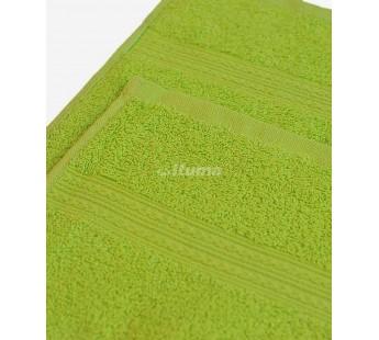 Зеленая 180х210 Простыня Махровая ITUMA