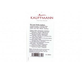 Подушка пуховая «De Luxe-Trinity medium» 50х70 Kauffmann Австрия