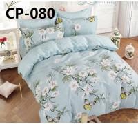 CP-080 евро комплект постельного белья сатин Retrouyt