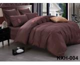 LOFT-04 однотонный комплект постельного белья евро сатин люкс с вышивкой Retrouyt