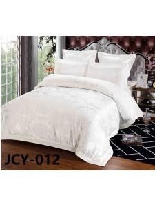Комплект постельного белья m-12 евро сатин-жаккард с вышивкой Retrouyt