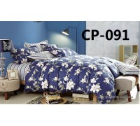 CP-091 евро комплект постельного белья сатин Retrouyt