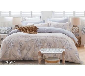 CP-067 евро комплект постельного белья сатин Retrouyt