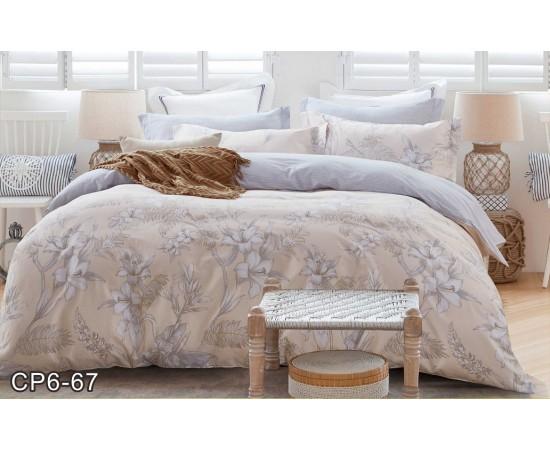 Комплект постельного белья CP-067 евро сатин Retrouyt