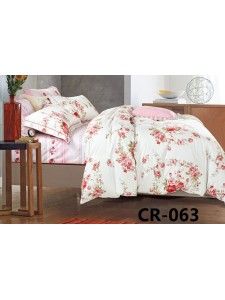 063 Комплект постельного белья евро сатин люкс Retrouyt