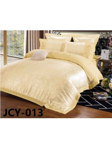 Комплект постельного белья m-13 евро сатин-жаккард с вышивкой Retrouyt