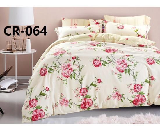 Комплект постельного белья CR-064 евро сатин люкс Retrouyt