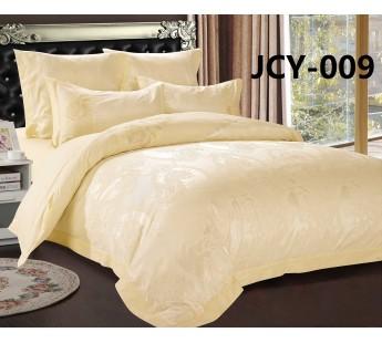 Комплект постельного белья m-9 евро сатин-жаккард с вышивкой Retrouyt