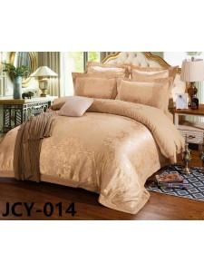 Комплект постельного белья m-14 евро сатин-жаккард с вышивкой Retrouyt