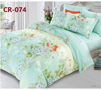 074 комплект постельного белья евро сатин люкс Retrouyt