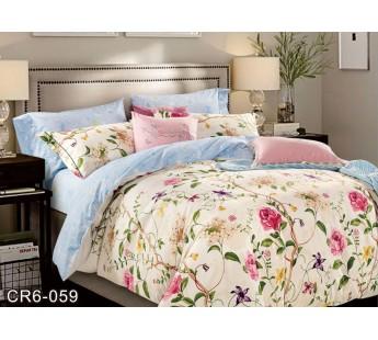 059 семейный комплект постельного белья сатин люкс Retrouyt