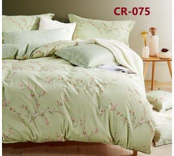 075 комплект постельного белья евро сатин люкс Retrouyt