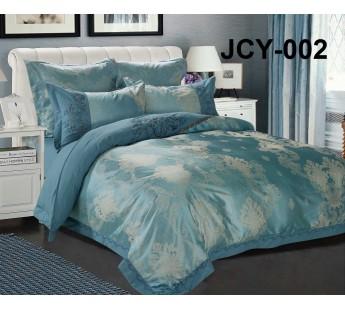 Комплект постельного белья m-2 евро сатин-жаккард с вышивкой Retrouyt